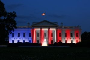 White house pride colors by Rene-L