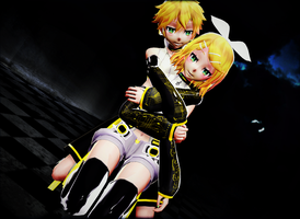 Kagamine Append by sparkel10493