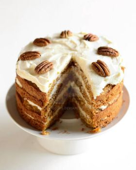 Pecan Coffee Cake by Minicoops