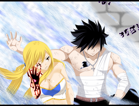 Lucy and Gray-Fairy tail ch.535 by parokas