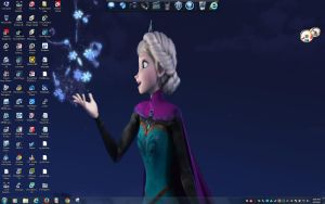 Frozen Desktop 8 by BigMac1212