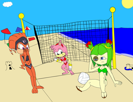 Team GF: Shade, Amy and Cosmo by Hero-T