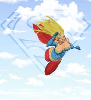 Supergirl  by Selkirk by carol-colors