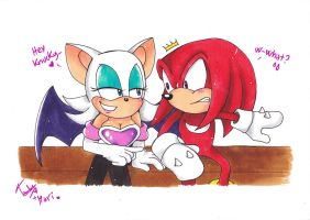 Collab Rouge and Knux by 7marichan7