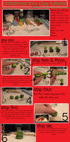 Clay Christmas Tree Tutorial by Acralicia