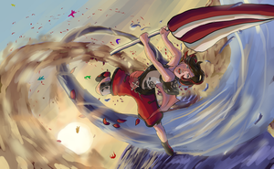 Crescent Cyclone!!! - RWBY Summer Contest 2015 by SoulsCore