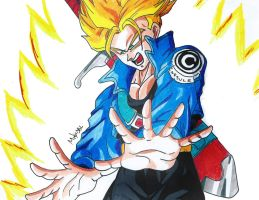 Trunks (from the future) by MikeES