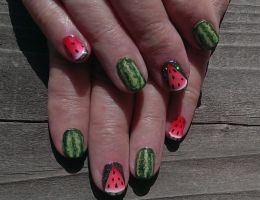 20140524 Watermelons 01 by m-everhamnails