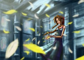 Aerith Gainsbrough- FFVII CC by kaworuC