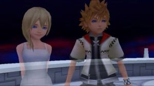 Namine and Roxas by MultiShadowYoshi