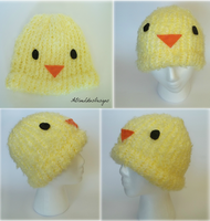 Gilbird Hat by ABlueLotusDesigns