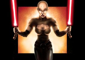 Star Wars - Asajj Ventress by Robert-Shane