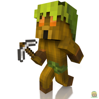 Deku Link - Minecraft by Deku-Gamer-DA