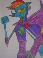 The Rainbow-Borg by DoofenEmpire
