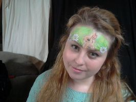 Easter facepaint! by Blueberrystarbubbles