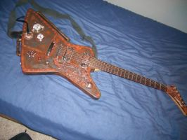 Steampunk Guitar Step 3 Pic 1 by The-Slunk