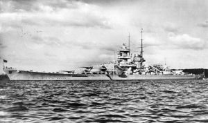 German Battleship Gneisenau by achmedthedeadteroris