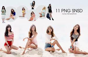 [ PNG SNSD] 11 PNG SNSD by NiCherry99