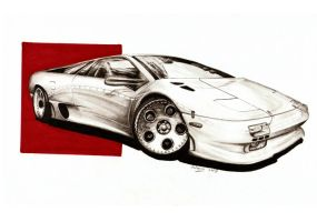 Lamborghini Diablo The Ripper by Medvezh