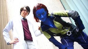 mystique and hank by more2lookfwd2