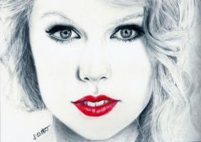 Taylor Swift by Deathangirl