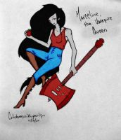 Marceline, the Vampire Queen by Catchmewithyourlips