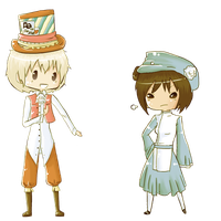 APH: in Wonderland by ohmystarrylies