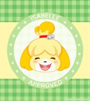 Isabelle - Animal crossing [Wallpaper] by iMoshie