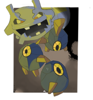 Roggenrola vs Steelix