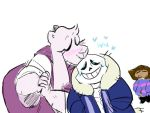 Kiss Meme- Soriel by ClassyChassiss