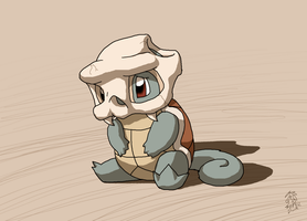 A Leaf from Cubone's Book - Squirtle by DragonwolfRooke