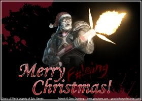 Christmas 2008 - Gears of War by GaryStorkamp