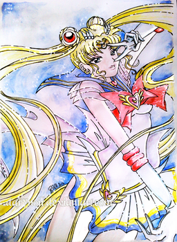 Super Sailor Moon by darynoir