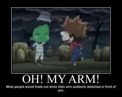 KHR Motivator - Oh, My Arm by Crescenta