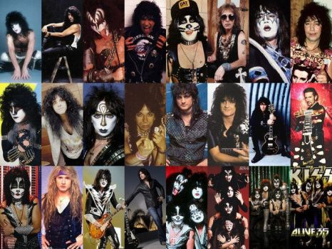 all KISS members by AdhyGriffin