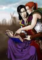Jael and Jowan colour by yuhime