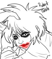 The Cure - Robert Smith by Kiki-Hyuga