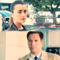 Tony and Ziva by JennyJethro2003