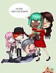Over Caffienated Villains Squad by Dragon-flame13