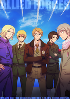 APH - WE ARE THE ALLIED FORCES by Nekozumi