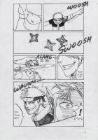 Naruto vs. Link Doujinshi p.4 by FreezingStudio