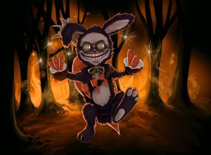 Mad Rabbit Ziggs - League of Legends Yordle Fanart by kapiheartlilly
