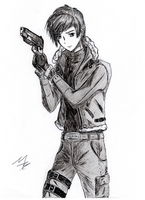 Leon Kennedy by Shell19