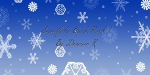 Snowflake Brush Pack 1 by DesiraeR