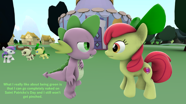 [SFM] Saint Patrick's Day in Ponyville by red4567-2