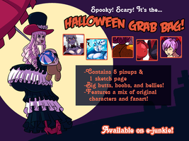 Halloween Grab Bag by Axel-Rosered