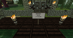 Close up on wwater boat )-(ouse sign by Dysfunctional-H0rr0r