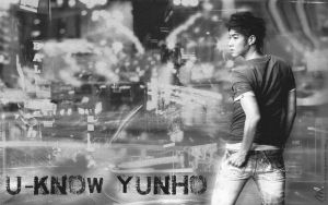 U-Know Yunho 21 BlackandWhite by MeyLi27