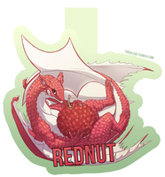 rednut badge commission by Triple-Torch-Art