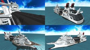 DOA5 Stage Cruise Liner by rolance